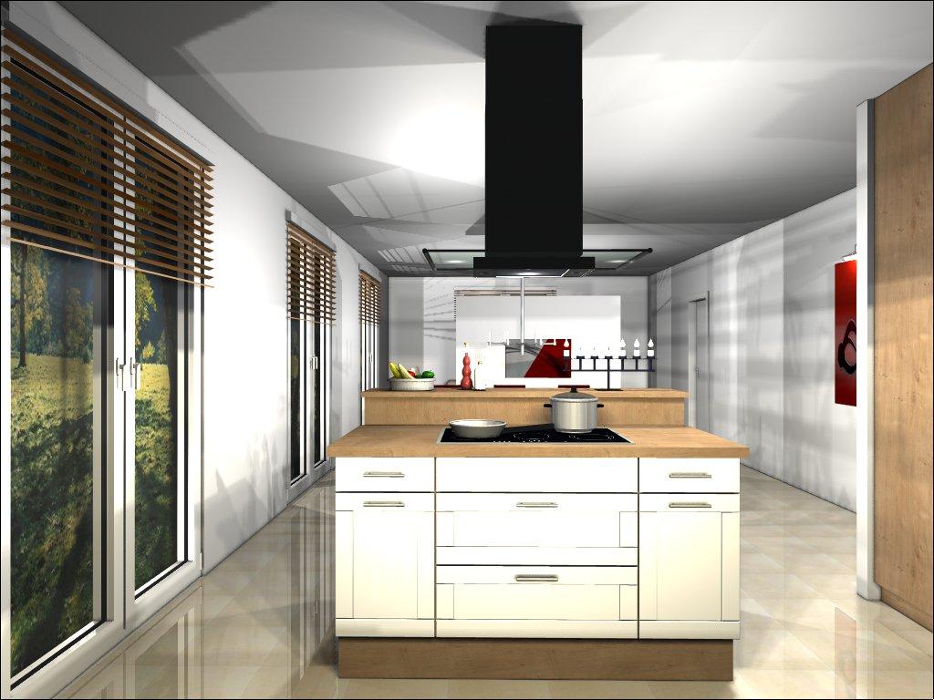Küche Ansicht Richtung Essbereich