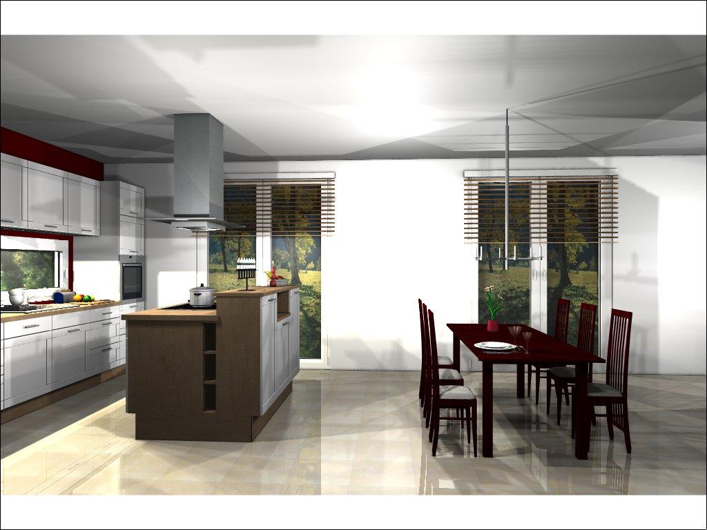 Küche Ansicht Richtung Terasse