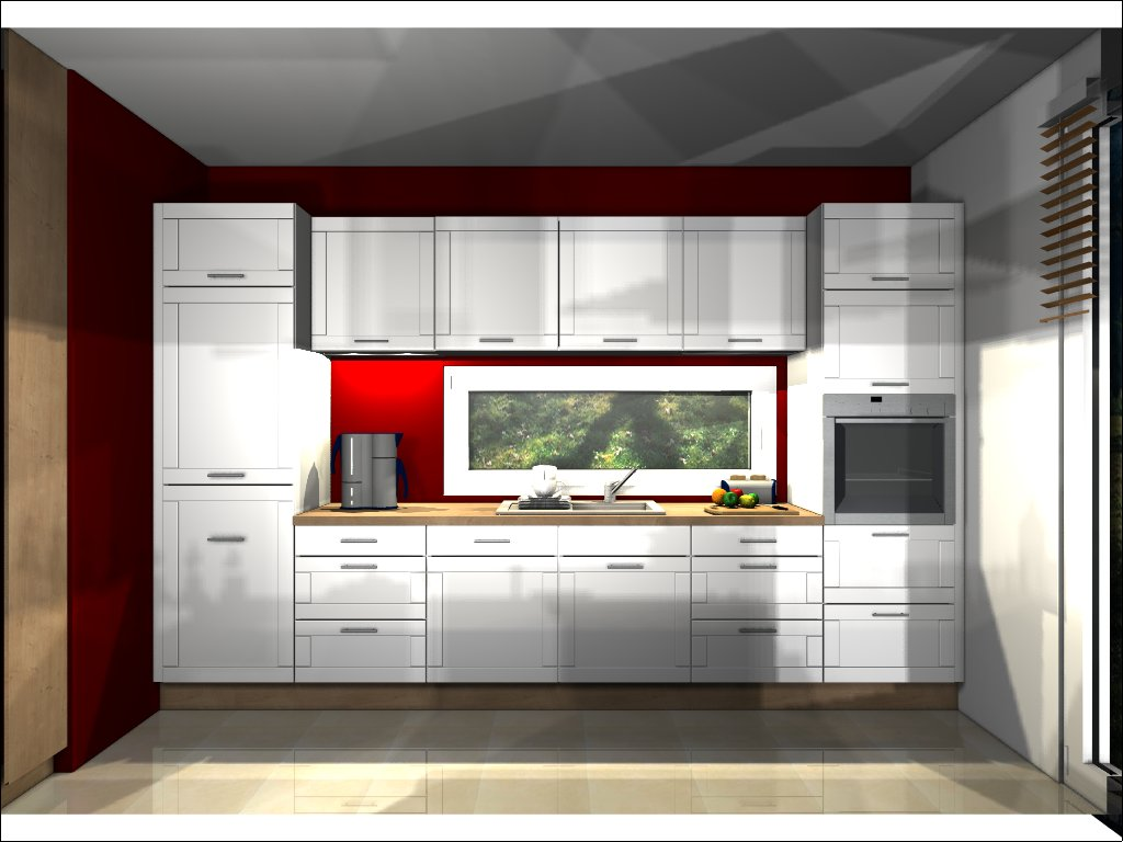 Küche Wandansicht