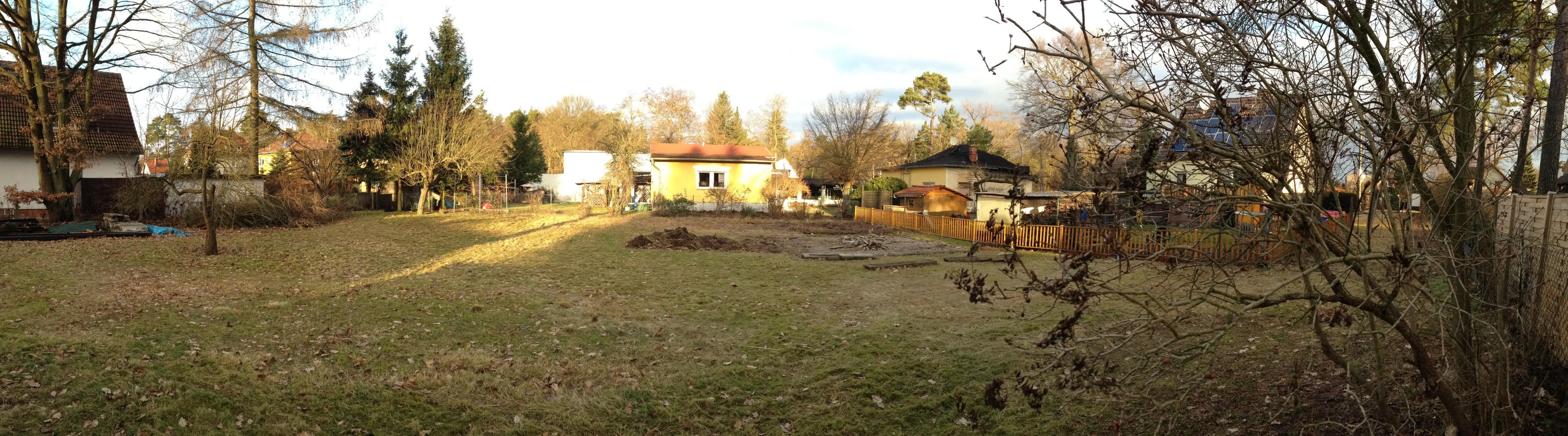 Grundstückspanorama