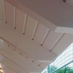 Dachüberstand mit Sichtsparren