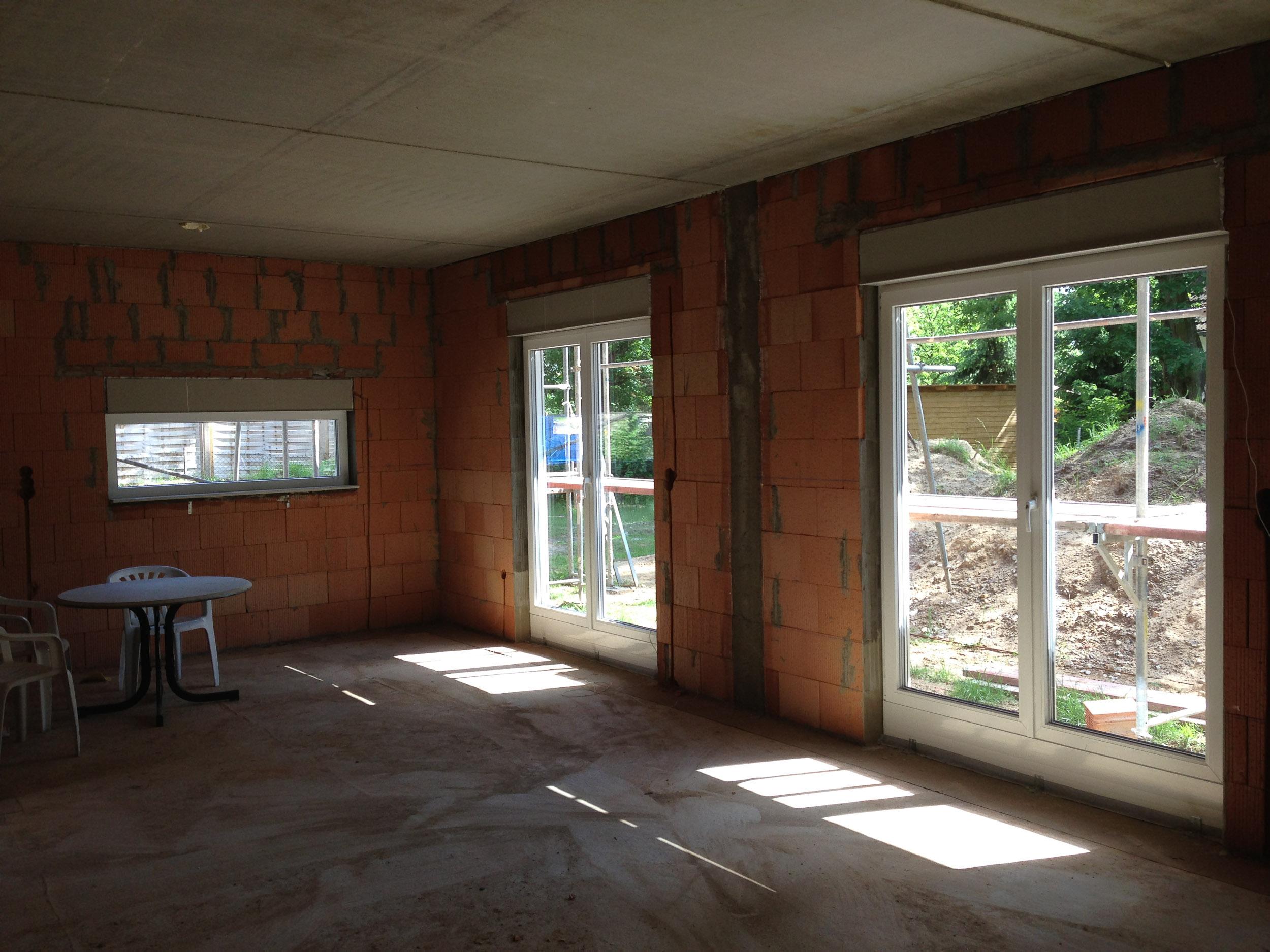 Küchenfenster & Essbereich