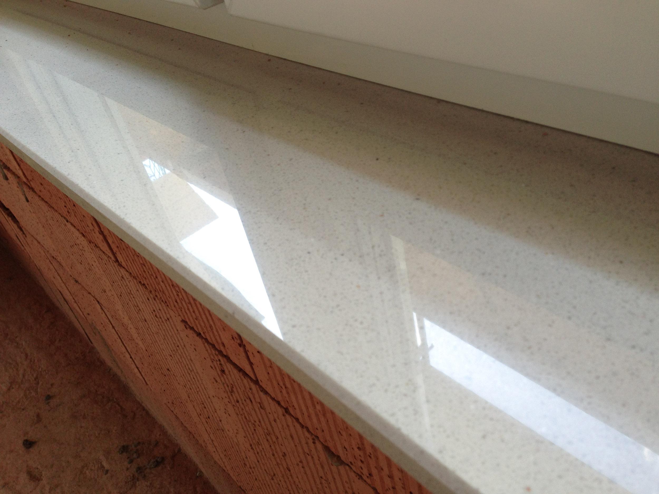 Innenfensterbänke Micromarmor Bianco