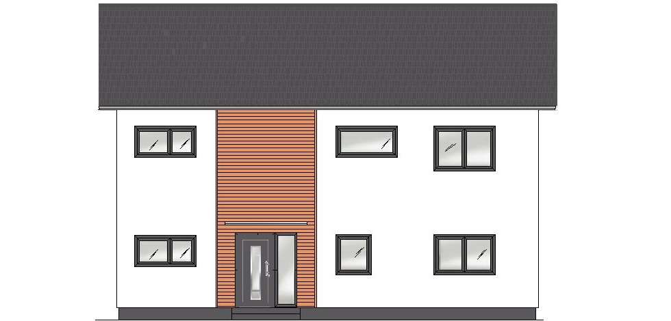 Planung der Holzfassade