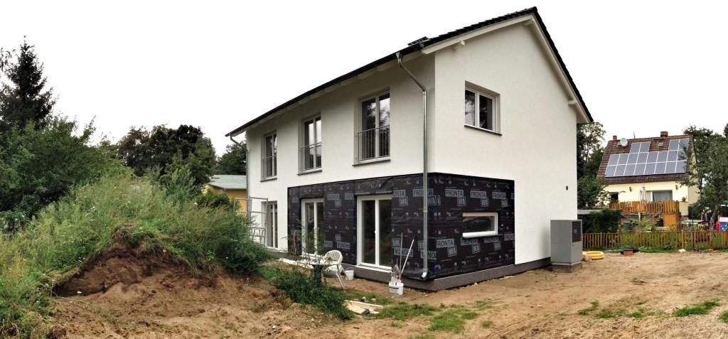 Haus fast fertig